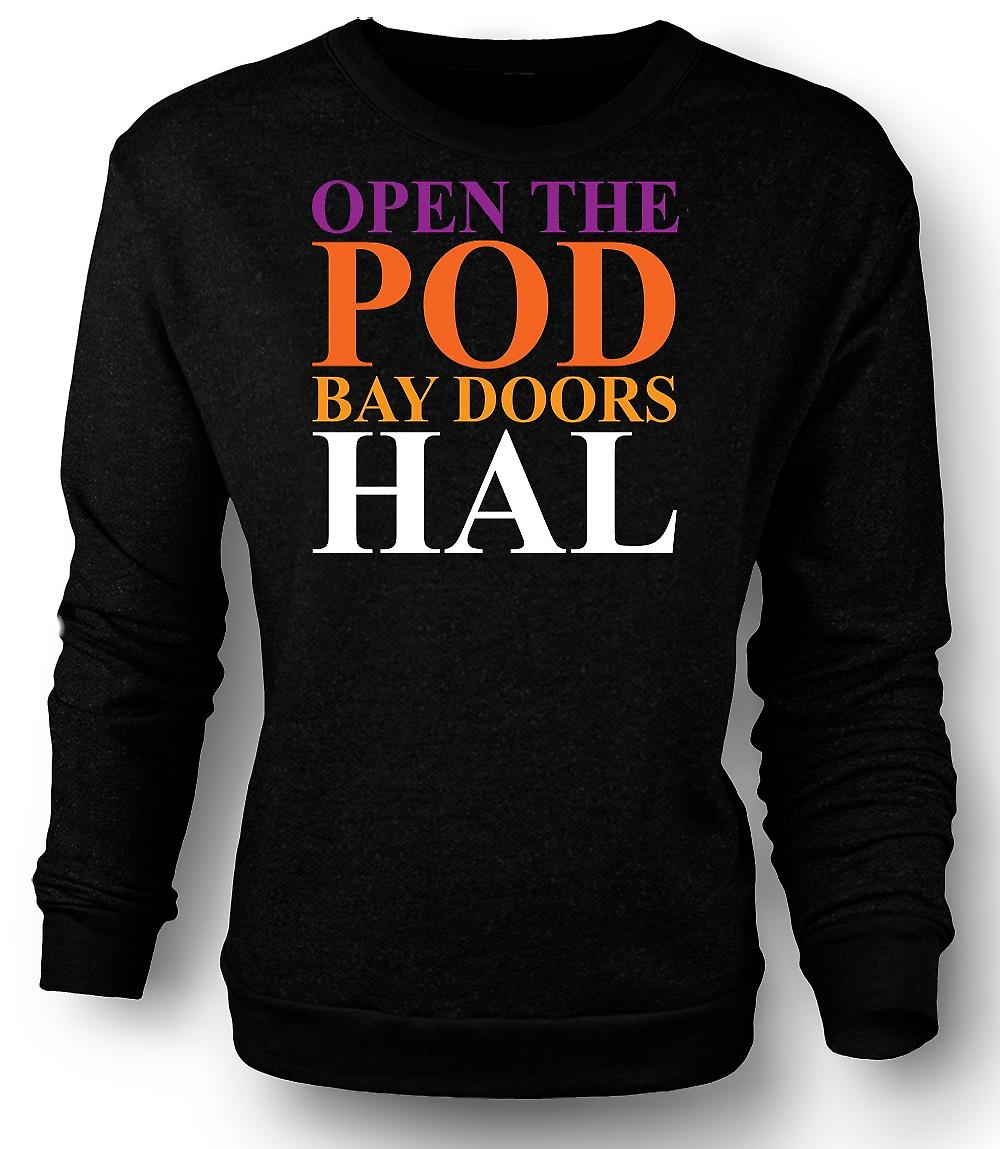 Mens Sweatshirt 2001 Space Odyssey HAL - Funny
