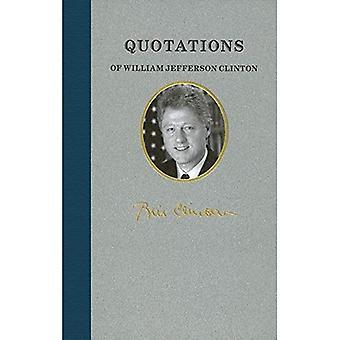 Quotations of William Jefferson Clinton