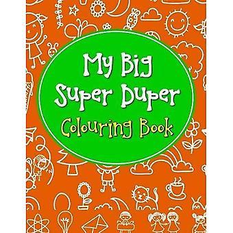 Min stora Super Duper målarbok