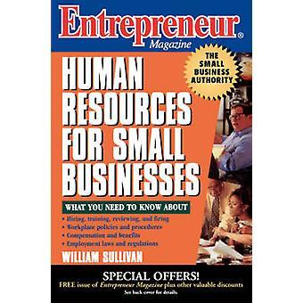 Revista recursos humanos emprendedor pequeños negocios por Sullivan y William