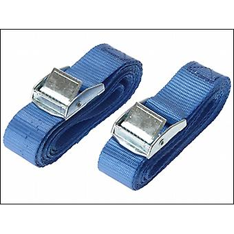 CAM BUCKLE 25MM X 2.5M (PACK OF 2)