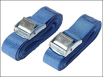 Olympia Cam Buckle 25mm x 2.5m (1in x 98in) (Pack of 2)