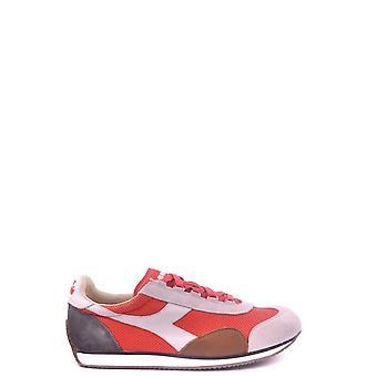 Diadora Red Suede Sneakers