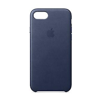 Apple iPhone 8 Leather Case MQH82ZM/A - Midnight Blue