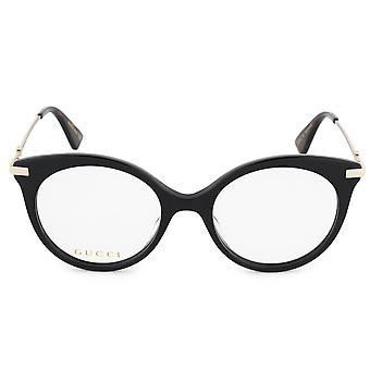 Gucci Cat Eye Eyeglass Frames GG0109O 001 50