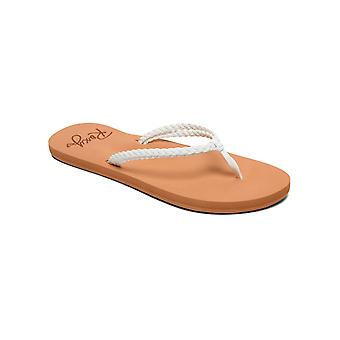 Roxy Womens Costas Casual Beach Sandals - Brown/White