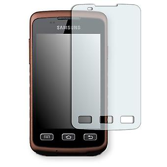 Samsung S5690M Galaxy Rugby display protector - Golebo crystal clear protection film
