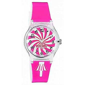 Moschino Womens roze riem MW0321 Watch