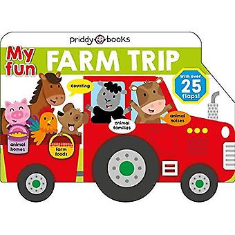 My Fun Bus: My Fun Farm Trip (Lift-The-Flap Tab Books) [Board book]