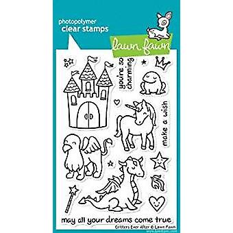 Lawn Fawn Clear Stamps Critters Ever After (LF382)