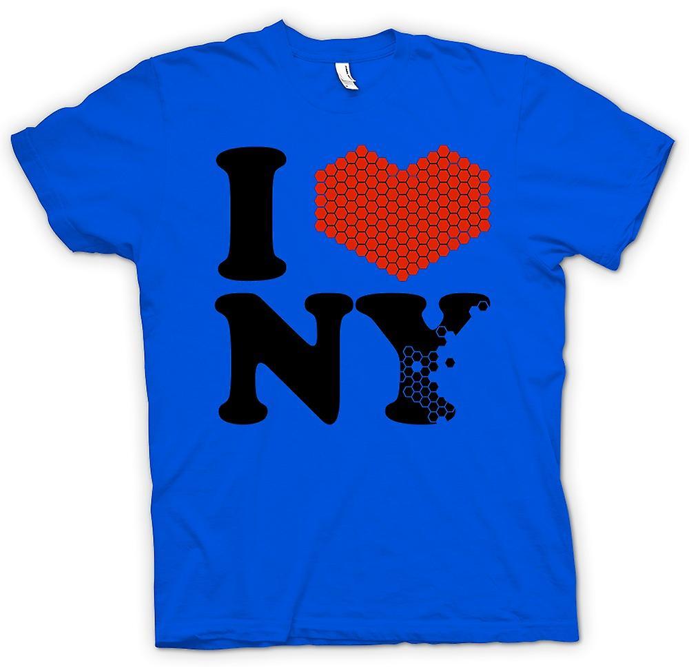 Kids T-shirt - I Love Heart New York - NY