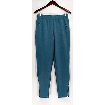 Isaac Mizrahi Live! Pants SOHO Space Dye Ankle Blue A279051