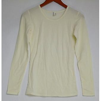 Legacy Top XXS Cuddle Me Long Sleeve T Shirt Ivory A260464
