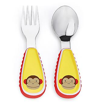 Skip Hop Zootensils Fork and Spoon