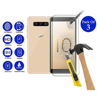 Pack of 3 Tempered Glass Screen Protection For Xgody S10 5.5