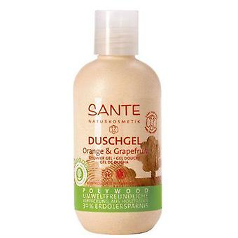 Sante Polywood Shower Gel Orange & Grapefruit