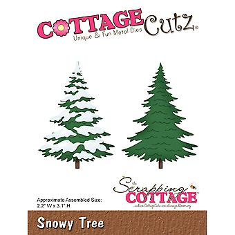 CottageCutz Die-Snowy Tree, 2.2