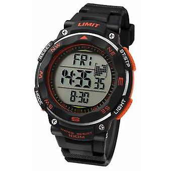Limit Mens Sport Black Strap 5485 Watch