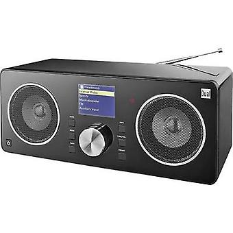 Internet Table top radio Dual Radio Station IR 8S AUX, DAB+, Internet radio, FM DLNA-compatible, Spotify Black