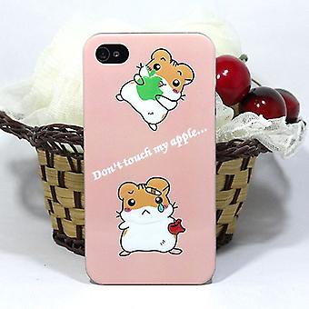 Don't Touch my cover apple, in relief for iPhone 4/4s