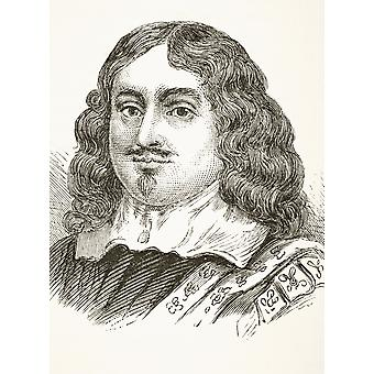 Edward Hyde 1St Earl Of Clarendon 1609 To 1674 English Historian Chancellor Of The Exchequer Lord Chancellor From The National And Domestic History Of England By William Aubrey Published London Circa