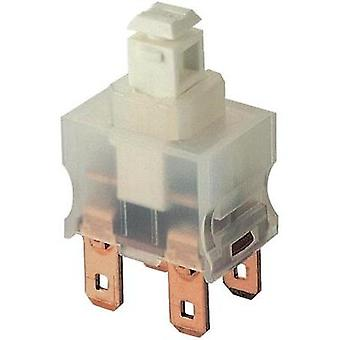 Pushbutton switch 250 Vac 12 A 2 x On/Off Marquardt 1682.1101 IP40 latch 1 pc(s)