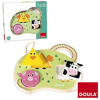Diset Baby Farm Puzzle (Toys , Preschool , Puzzles And Blocs)