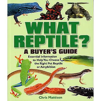 Manuals/encyclopedias What Reptile?