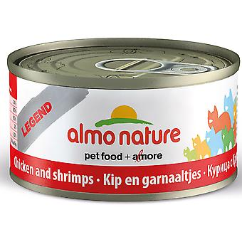 Almo Nature Hfc Natural Cat Adult Chicken & Shrimp 70g (Pack of 24)