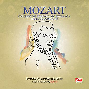 Mozart - Concerto for Horn & Orchestra No. 4 in E-Flat Majo USA import