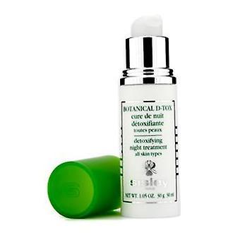 Sisley Botanical D-Tox Detoxifying Night Treatment - 30ml/1.05oz
