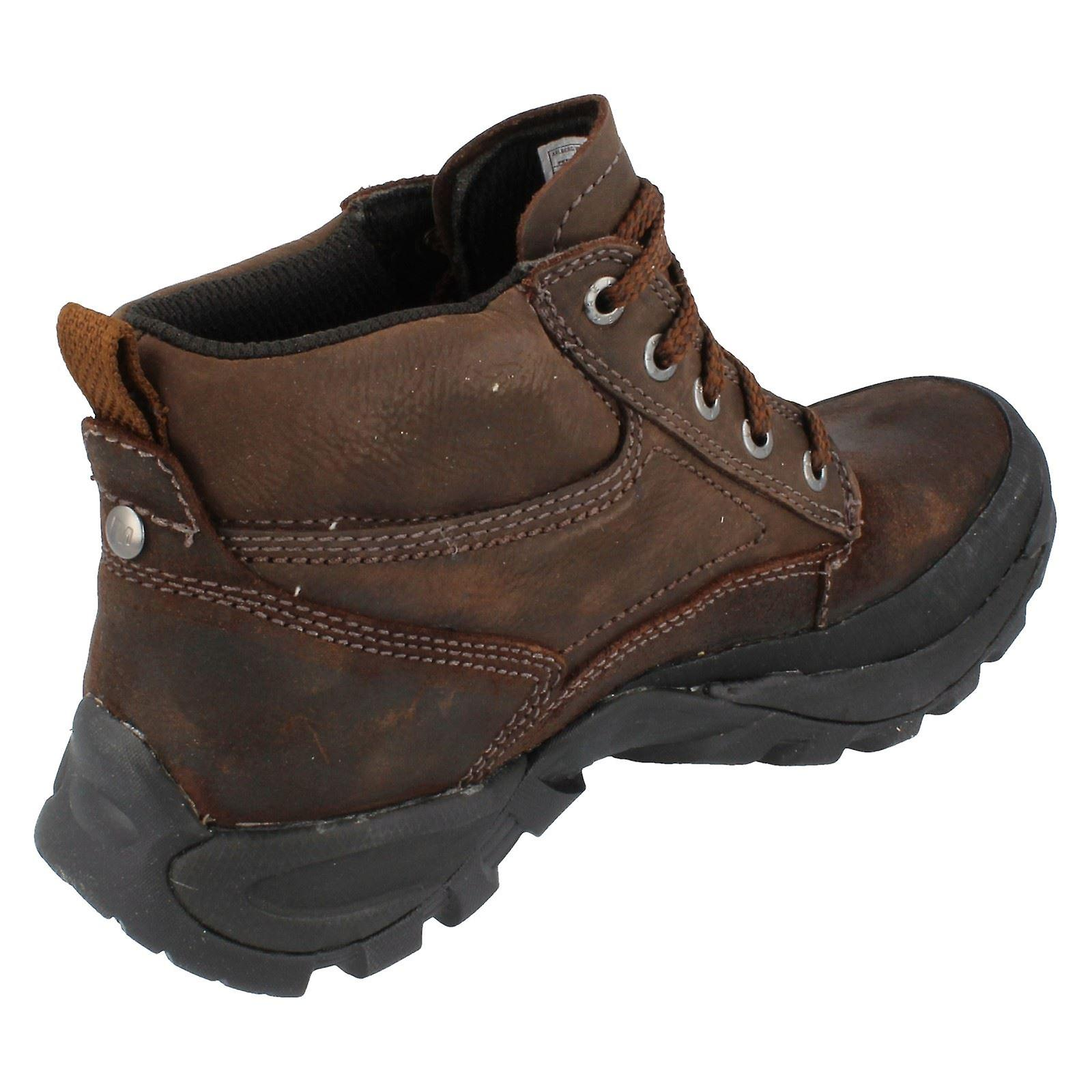 Mens Merrell Arlberg Waterproof Leather Lace Up Ankle Boots