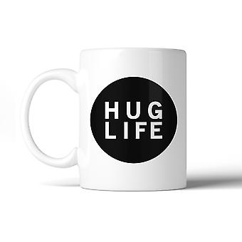 Hug Life Cute Ceramic Coffee Cup Microwave Safe Dishwasher Safe