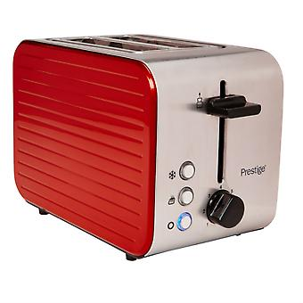 Prestige 2 Slice Toaster in Red 46121