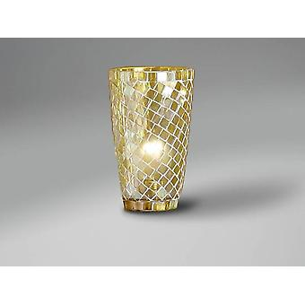 Schuller Mosaic Conical Glass Shade, Ye (Lighting , Interior Lighting , Screens)