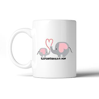 Elephantabulous maman 11 oz tasse à café pleine d'esprit Design mignon cadeaux