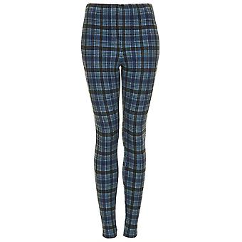 TS TALL Denim Multi Check Leggings
