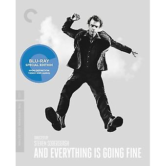 And Everything Is Going Fine [BLU-RAY] USA import