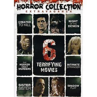 Horror Collection Extravaganza: 6 Terrifying Movie [DVD] USA import
