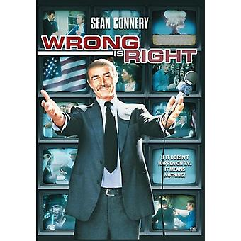 Wrong Is Right [DVD] USA import