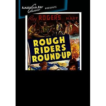 Rough Riders Round-Up [DVD] USA import