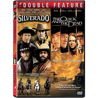 Quick & the Dead/Silverado [DVD] USA import