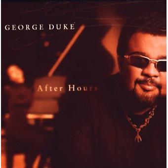 George Duke - importación de Estados Unidos después de horas [CD]
