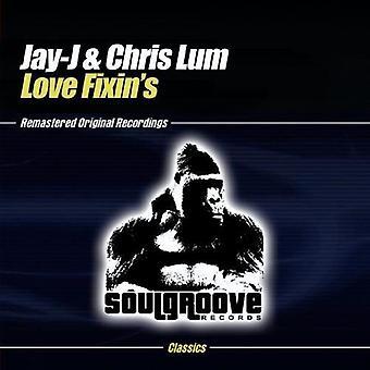Jay-J & Chris Lum - Love Fixin's [CD] USA import
