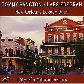 Tommy Sancton & Lars Edegran - en Million drømmeby [CD] USA importerer