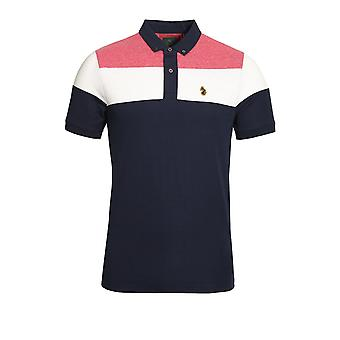 LUKE SPORT Mickey Spacers Polo Shirt Lux Navy