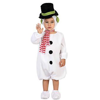 Baby dräkter kostym baby snögubbe