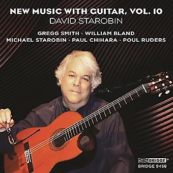 Chihara / Smith / Ruders / Starobin - ny musik med Guitar 10 [CD] USA import