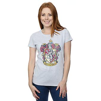 Harry Potter Women's Gryffindor Distressed Crest T-Shirt