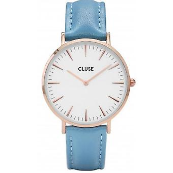 Watch Cluse CL18033 - Bohemia Golden pink white blue woman